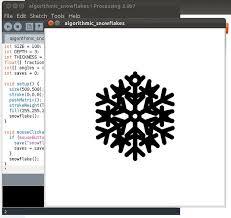laser cut algorithmic snowflakes 5 steps
