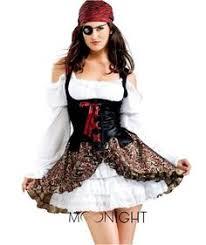 Female Pirate Halloween Costumes Wholesale Cosplay Costumes Women Fever Pirate Costumes