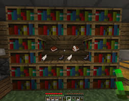 How To Make A Table In Minecraft Bookshelf Custom Bookcase Minecraft Charming Bookcase Minecraft