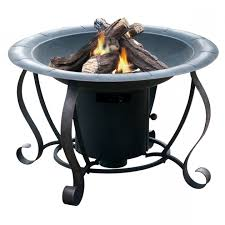 Square Fire Pit Insert by Stylish Shop Garden Treasures 35 In W Blackhigh Temperature