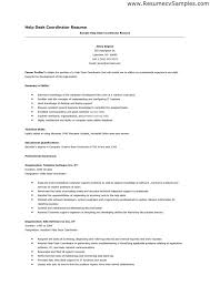Help Desk Specialist Resume Help With A Resume Amitdhull Co