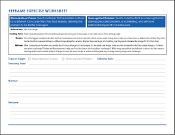 Sales Call Planning Worksheet Challenger Sale The Reframe Exercise U2013 Repeatable Success