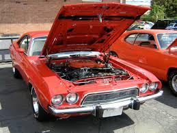 Dodge Challenger Front Bumper - file 1973 dodge challenger red jpg wikimedia commons