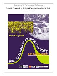 degrowth conference proceedings sustainability economic growth