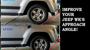 wk xk wheel tire picture how to remove a jeep wk lower fascia air dam for 2005 2007