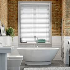 Wooden Blinds Nottingham White Wooden Blinds Save 70 On Our Faux White Wooden Blinds