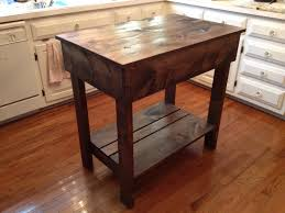 diy custom kitchen island barn wood or butchers block for counter