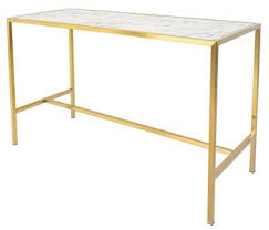 marble top bar table classic gold plating marble top wedding bar table buy gold plating