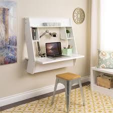 Modern Study Desk by Black Glass Computer Desk On White Ceramic Floor Tile Closed To