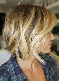vies of side and back of wavy bob hairstyles side view of short wavy bob cut best bob haircut for 2015