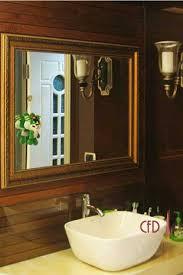 Framing Bathroom Mirrors by Bathroom Mirrors Framed By Custom Frame Direct