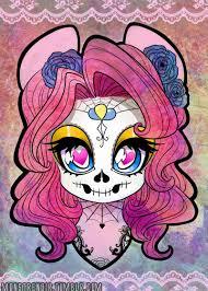 381155 artist lolopan dia de los muertos makeup pinkie