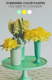 63 best mint yellow weddings images on pinterest yellow