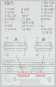 stock stereo wiring diagram or pin assignments