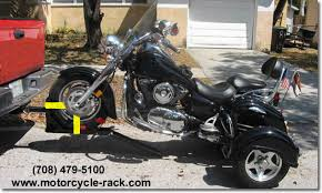 Tire Rack Motorcycle Mc Front Wheel Towing System