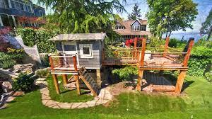 building a backyard playground round designs