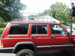 jeep comanche roof basket your 98 xj roof rack build jeepforum com