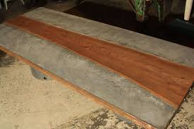concrete and wood coffee table concrete patio table montserrat home design new ideas concrete