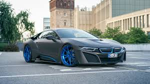 bmw germany bmw i8 wrapped in matte gray gets one off photo session bmwcoop