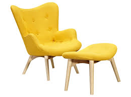 Yellow And Gray Accent Chair Gray And Yellow Living Room Midcentury Armchairs And Accent Chairs