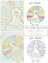 printable thanksgiving worksheets are all done color in turkey turkey to color drawing here is the