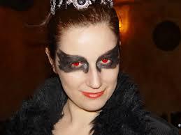 cisne negro halloween costume disfraz blackswan makeup