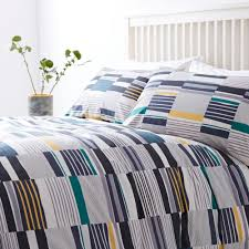 linea alana print duvet cover set house of fraser