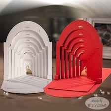 creative wedding invitations 3d style creative wedding invitations biziv promotional products