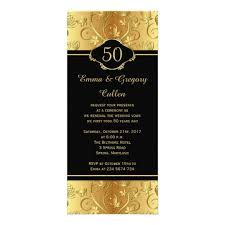 vow renewal ceremony program 50th wedding anniversary vows renewal program zazzle