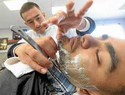 more inland empire barbers reach into yesteryear for inspiration