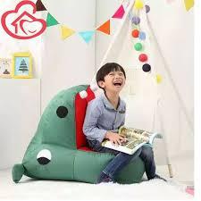 louis fashion children chair for kids single small hippo bean bag