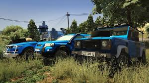land rover discovery pickup land rover defender 110 pickup unlocked gta5 mods com