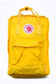 fjallraven kanken warm yellow 15 u2033 laptop backpack wooki