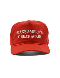 official merry hat make america great again