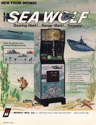 1976 midway sea wolf coin operated arcade video game 09 retro