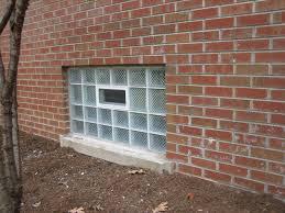 basement glass block windows basements ideas