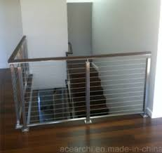 Wire Banister China Competitive Price Stainless Steel Cable Railing Systems Wire