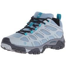 moab ventilator womens merrell women athletic shoes moab edge hiking shoe light blue ebay