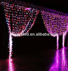 dubai market white christmas led connectable waterfall curtain
