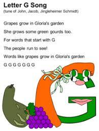 letter g song lyrics g is for garden pinterest songs letter