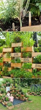 Herb Garden Idea 20 Cool Vertical Gardening Ideas Hative