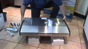 installation d une cuisine installation d une hotte de cuisine encastr e comment installer