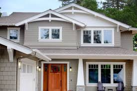 house with craftsman style windows and door distinctive