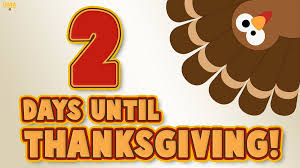 morning america on only two days until thanksgiving