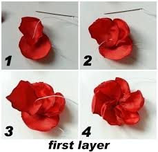 flower hair clip diy flower hair how to make a flower hair clip jewelry