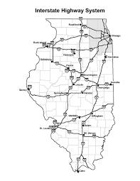 Interstate Map Chicago City Of Big Shoulders 1 Interstate Highways