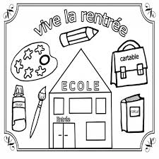 coloriage maternelle petite section