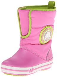 crocs light up boots crocs 15811 light up gust boot little kid party pink volt