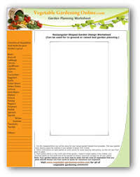 Planning A Garden Layout Free Free Vegetable Garden Planner Software And Worksheets