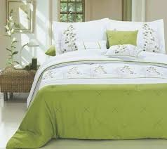Green Bed Sets Grey And Green Bedding Elkar Club